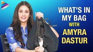 Download What's In My Bag With Amyra Dastur | Amyra Dastur Funny Interview | Telugu FilmNagar Mp3 and Videos