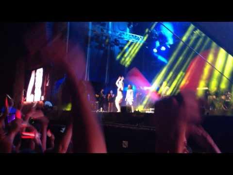 Rita Ora Radioactive Live @ The Gibraltar Music Festival 2014
