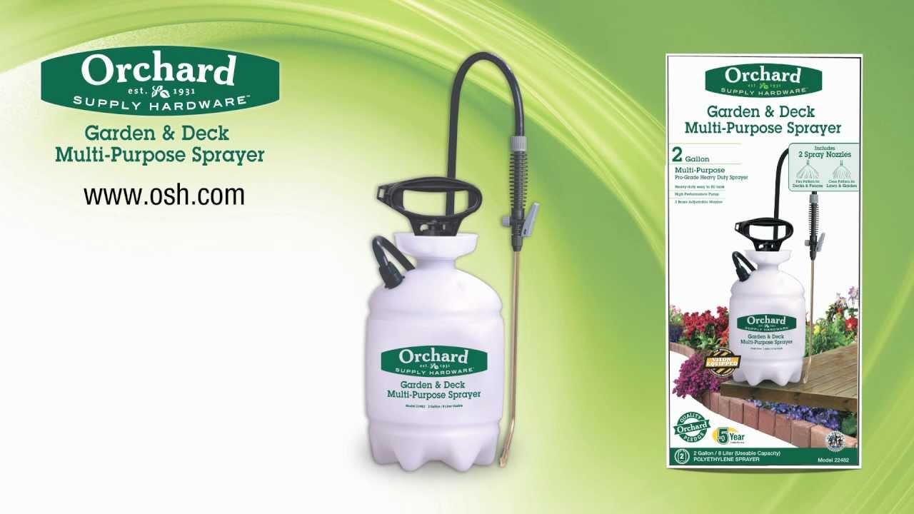 Good Orchard Supply Garden U0026 Deck Sprayer
