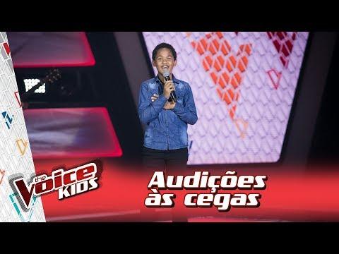Felipe Gaspar canta 'A Flor e o Beija Flor' na Audição – 'The Voice Kids Brasil' | 3ª Temporada
