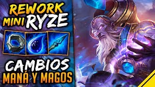 Mini REWORK RYZE y CAMBIOS al MANÁ en TODOS LOS MAGOS | Noticias League Of Legends Jota LoL