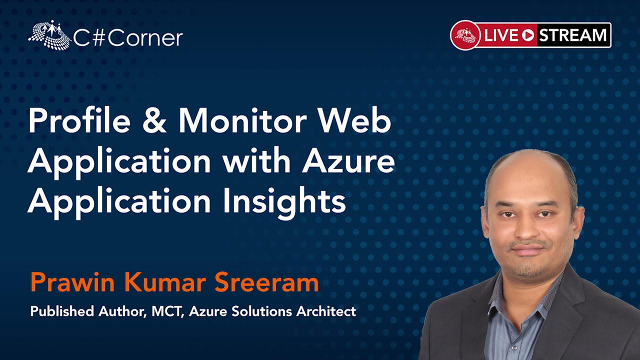 Profile & Monitor Web Apps with Azure Application Insights    Code Quality & Performance
