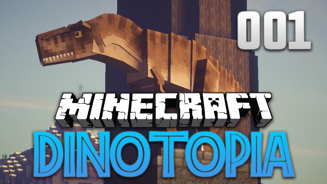 Minecraft Dinotopia Rückkehr Der Dinosaurier DeutschHD YouTube - Minecraft dinosaurier spiele
