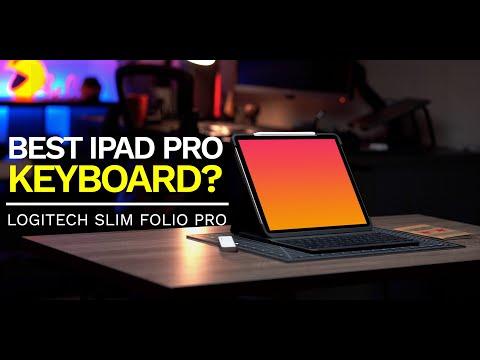 Best iPad Pro keyboard? Logitech Slim Folio Pro (Review)