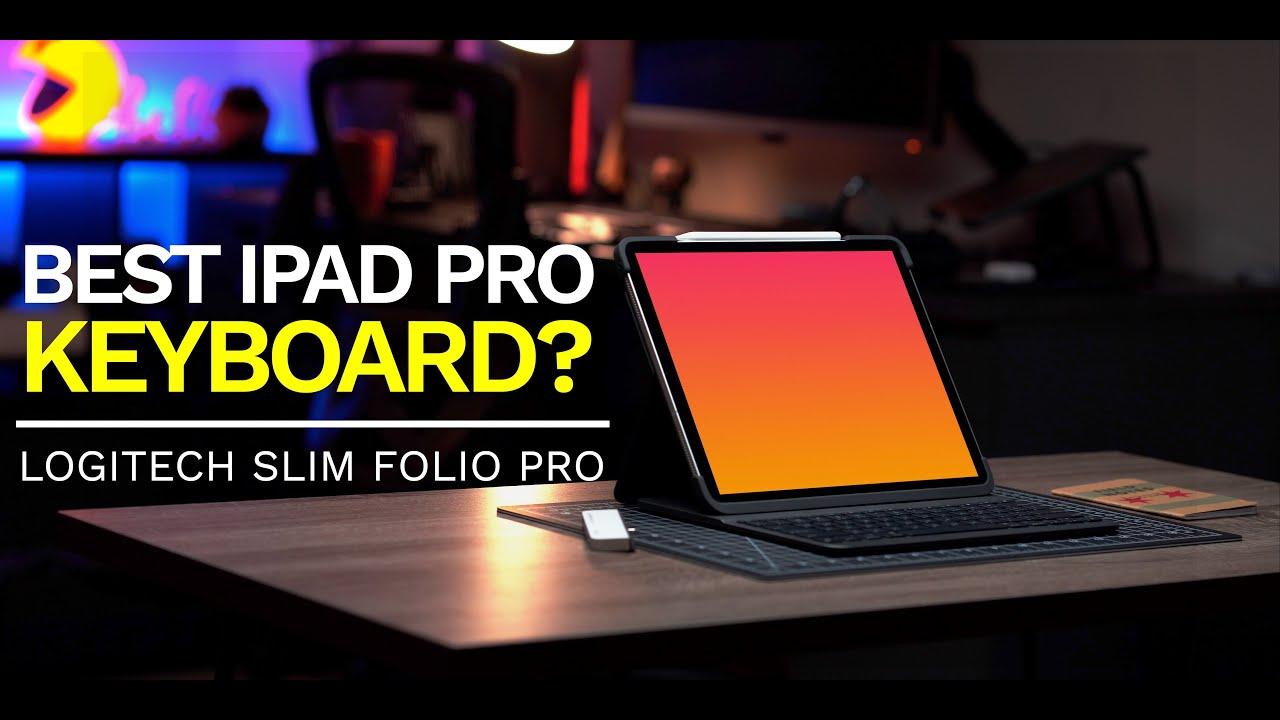 ae87e30203f Best iPad Pro keyboard? Logitech Slim Folio Pro (Review) - YouTube