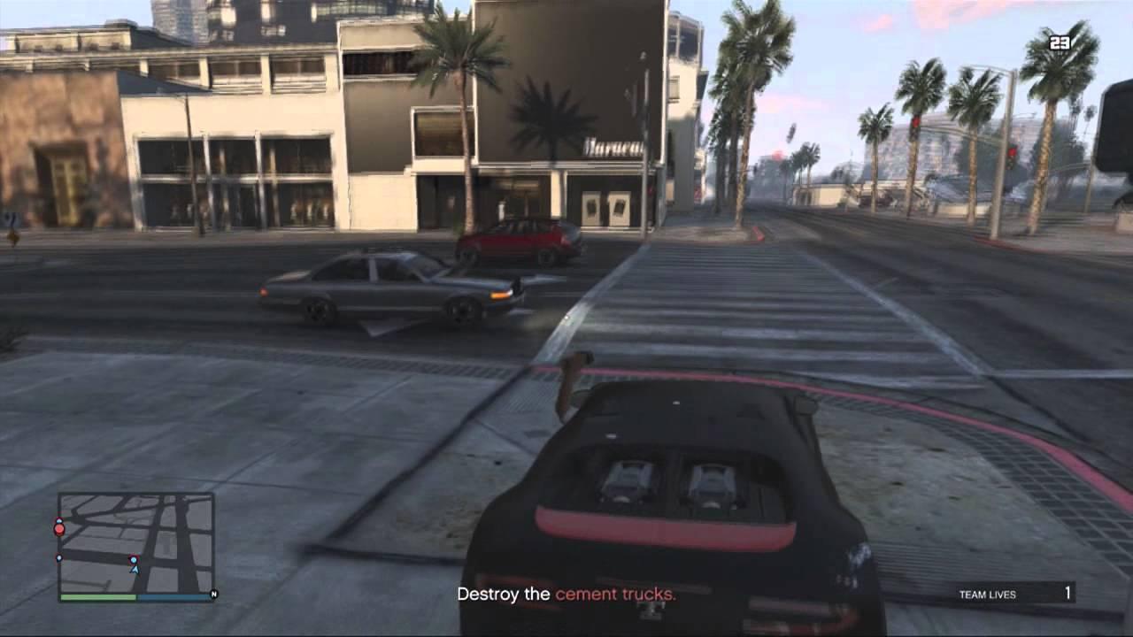 GTA V Online Easy Money $500K/HR Martin Mission - YouTube