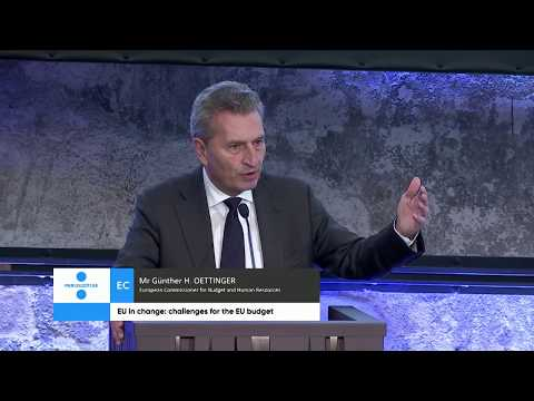 Session IV at SECG:challenges for the EU budget