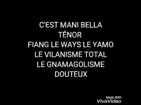Ténor feat Mani Bella DÉRANGER lyrics by BABY STYLY