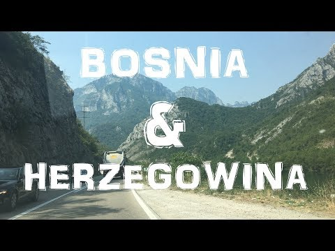 CRAZY roads and an UNREAL country | BOSNIA | BALKAN ROADTRIP | DAY 3
