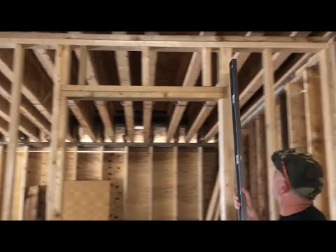 How To Frame An Interior 2x4 Wall With A Rough Opening For A Door