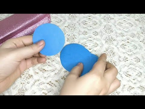 how to make easy paper umbrella for kids school project/ MISS CREATIVE