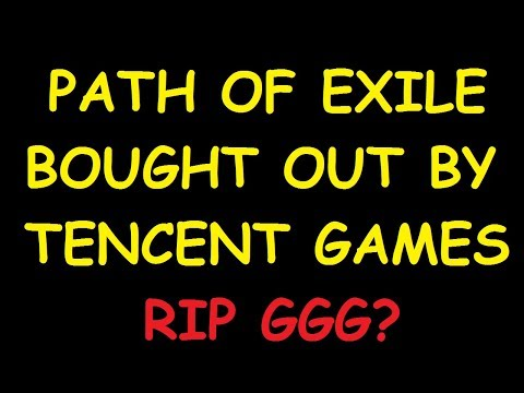 GGG SOLD PATH OF EXILE TO TENCENT?! | Demi 'Splains