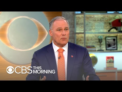 "Jay Inslee 2020: ""Electoral college needs to go"""