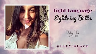 Light Language - Lady Nuage - Lightning Bolt #10