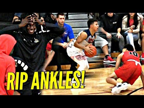 Thumbnail: Julian Newman DESTROYS Trash Talking Defender's Ankles!! But Was It Enough? Full Highlights!!