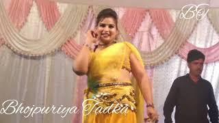 Chaudi Gajab Gadrail biya ||  गजब गदराईल बिया || Bhojpuri arkestra video new song HD