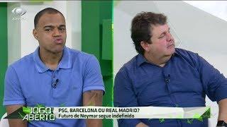 Denilson zoa Ulisses por cravar Neymar no Real Madrid