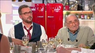 Olivier Minne et Claude Brasseur - C à vous - 20/02/2017