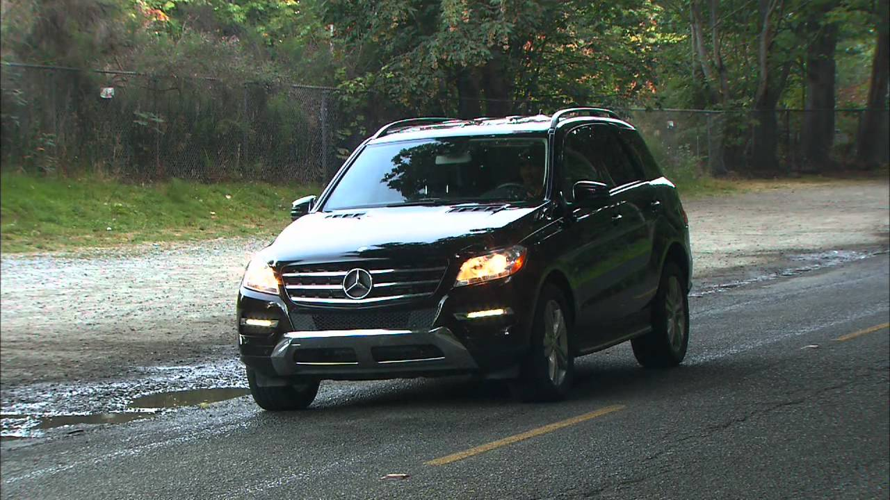 2012 mercedes benz ml350 bluetec hd video review funnydog tv for Mercedes benz ml350 bluetec