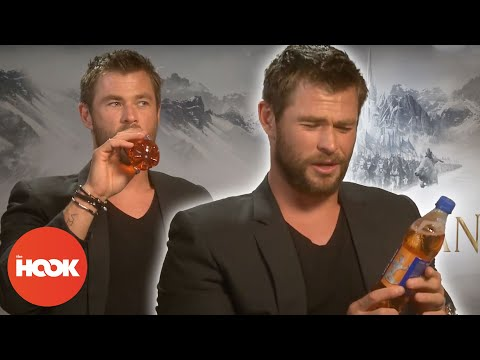Chris Hemsworth Pulls Ridiculous Faces In Interview | FULL ...