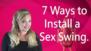 7 ways to install a sex swing