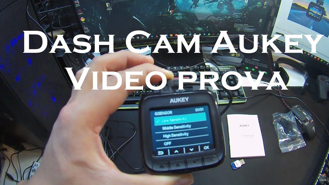 aukey dash cam mini full hd 1080p per auto italia video. Black Bedroom Furniture Sets. Home Design Ideas