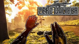 New VIRTUAL REALITY Realistic Shooter - Zero Caliber VR Gameplay
