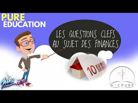 PURE ÉDUCATION : LES QUESTIONS CLEFS AU SUJET DES FINANCES