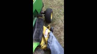 why you should buy a John Deere 160 lawn tractor.