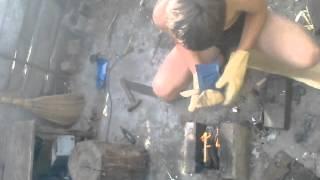 як зробити рукоять для ножа із пластику