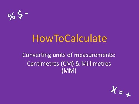 How To Convert Between Centimeters Cm And Millimeters Mm