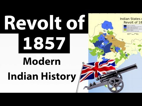The Revolt of 1857 - How the British crushed the rebellion ? - Indian Modern History for UPSC