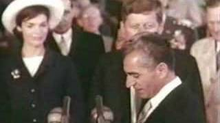 The Shah of Iran and President Kennedy