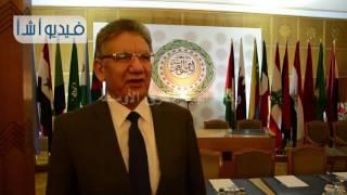 خيري عبد الحميد: الجامعة العربية حريصة علي رعاية نموذج الأمم المتحدة الذي تقيمه جامعة