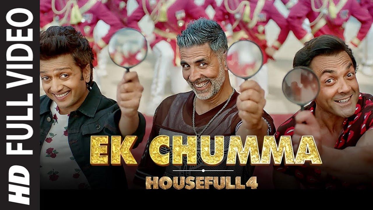 Full Song: Ek Chumma | Housefull 4 | Akshay K, Riteish D, Bobby D, Kriti S,Pooja,Kriti K |Sohail Sen