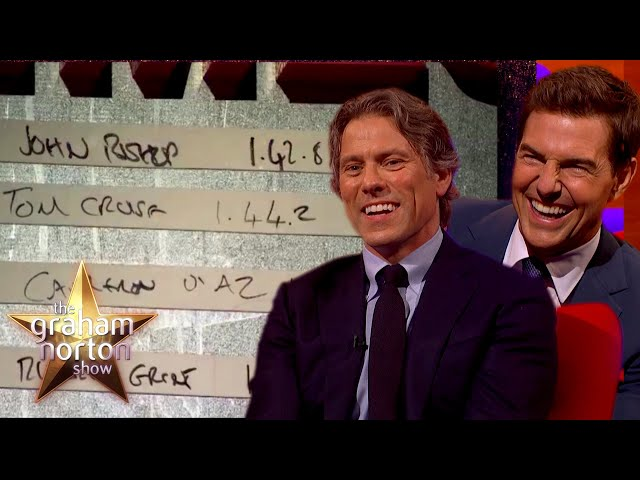 Tom Cruise Finds Out John Bishop Beat His Top Gear Speed | The Graham Norton Show
