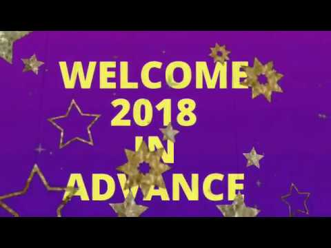 happy new year 2018 happynewyear2018video happynewyear2018in advance newyear