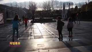 에버랜드 분수에서 노는 아이들 Everland Children Playing in the Fountain 라임튜브