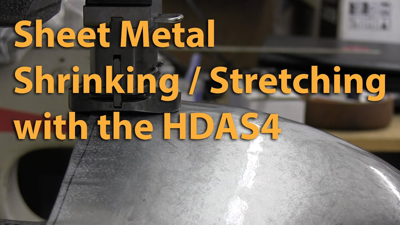 Sheet Metal Shrinking Amp Stretching Youtube