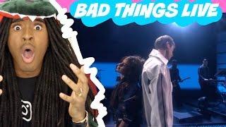 Camila Cabello & Machine Gun Kelly - Bad Things (Live On The Ellen Show)