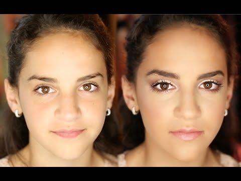 Middle School Formal Makeup Tutorial