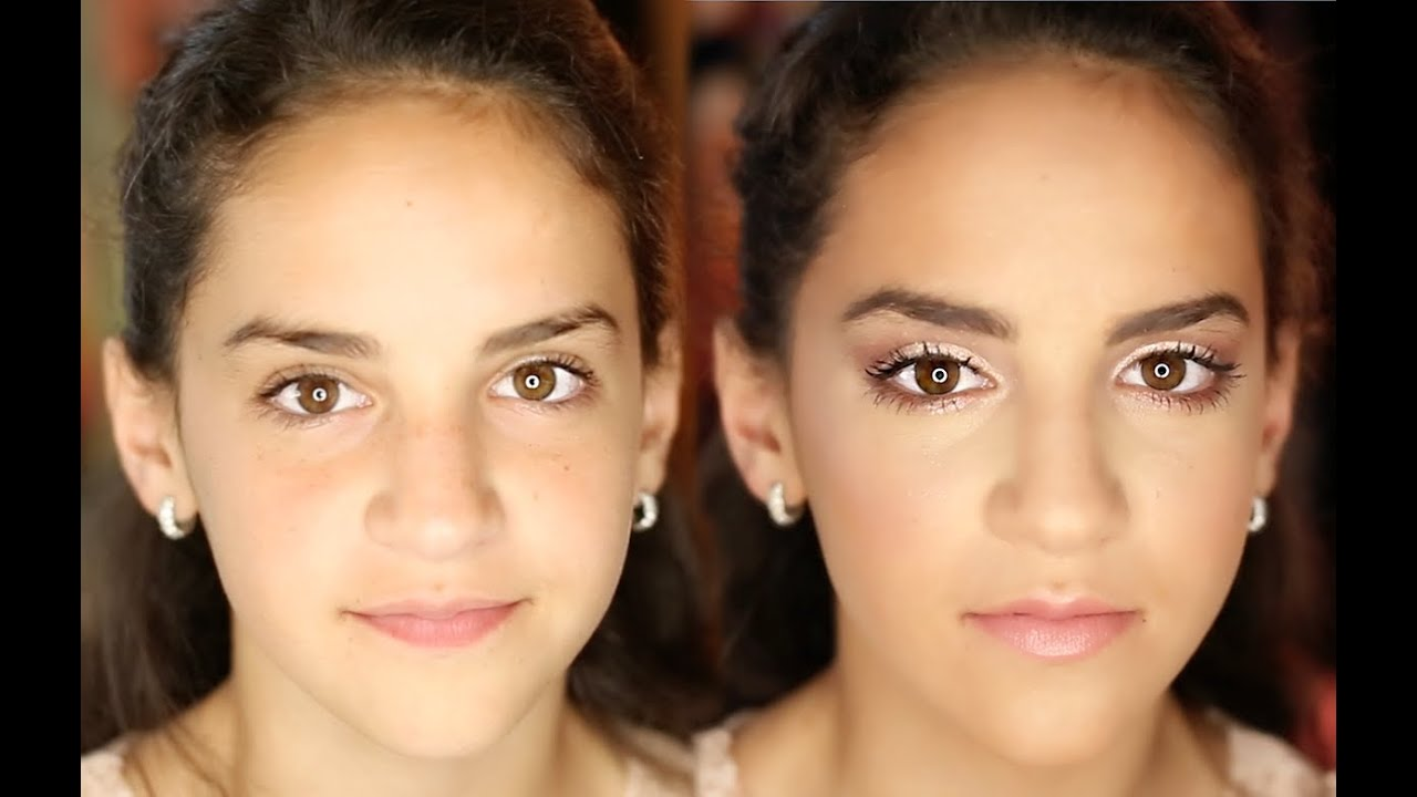 Middle School Formal Makeup Tutorial Youtube