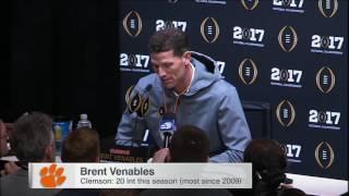 Venables praises Alabama