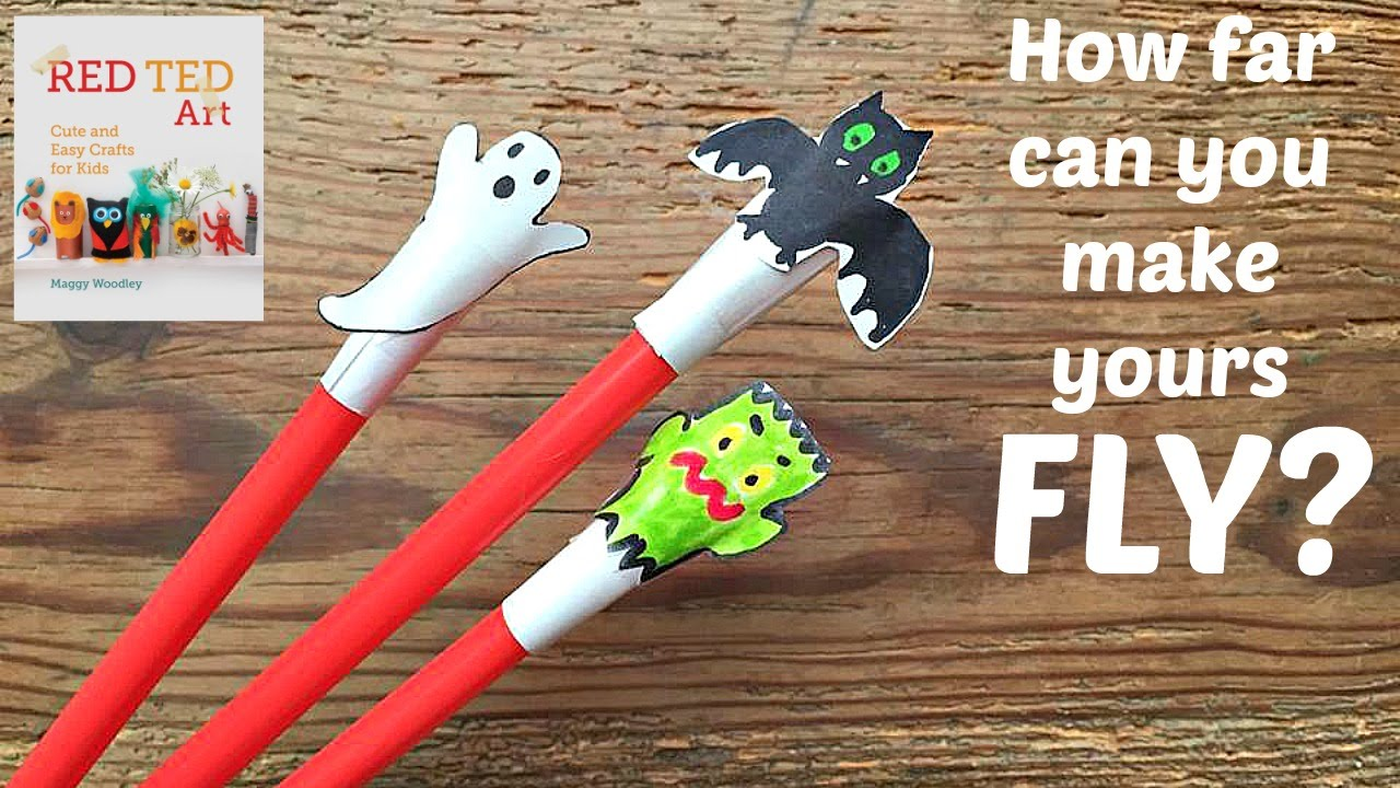 halloween crafts cute shooter craft activity youtube - Cute Halloween Crafts
