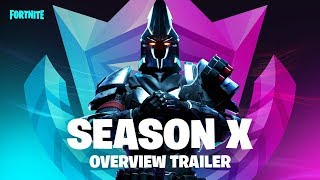 FORTNITE SEASON X-TRAILER 2 (SHOWING ALL) BATTLE PASS