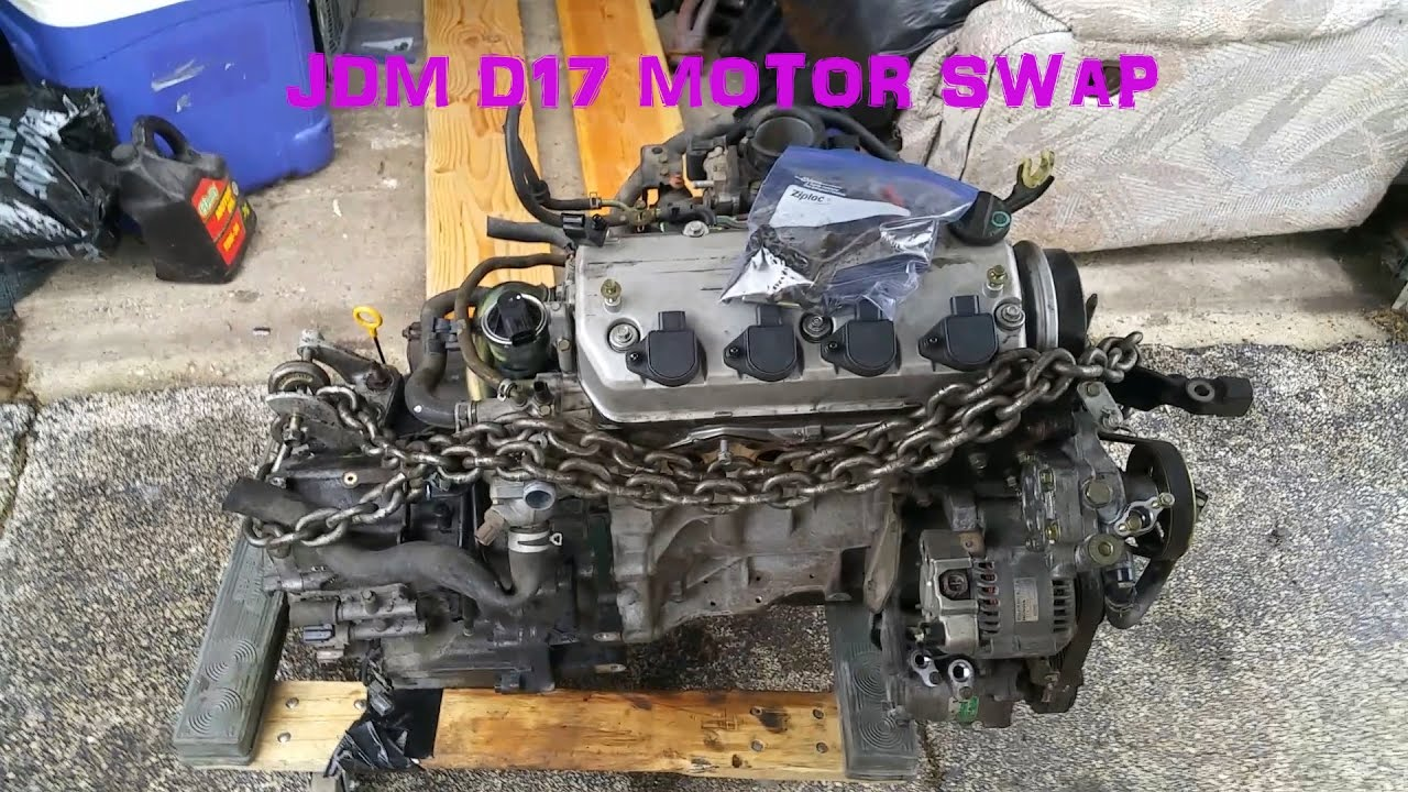 maxresdefault honda civic d17a2 to jdm d17a motor swap youtube d17a2 wire harness at bayanpartner.co