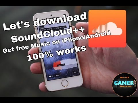 Download SoundCloud++ On IPhone/Android Get Free Music To ITunes!!