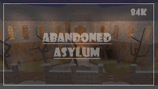 ROBLOX : Bloxburg    Abandoned Asylum Speed Build