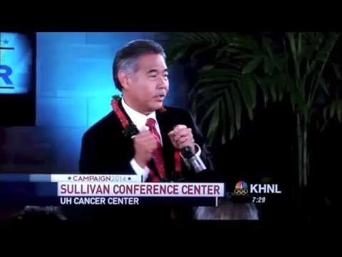 David Ige forgets the question