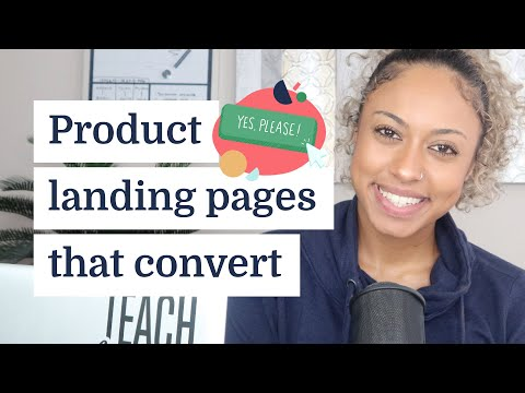 How to build a product landing page that converts
